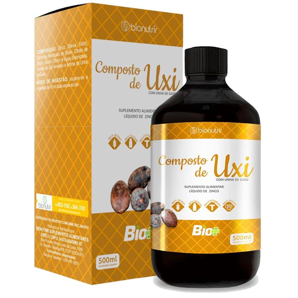 Composto Uxi Amarelo com Unha de Gato 500ml - Bionutrir