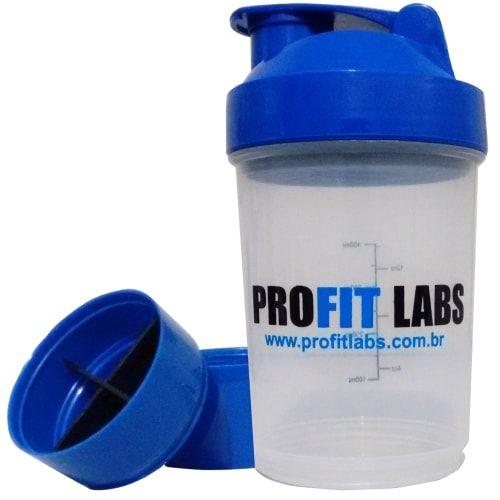 Coqueteleira Azul 3 Doses - Profit  - Personall Suplementos