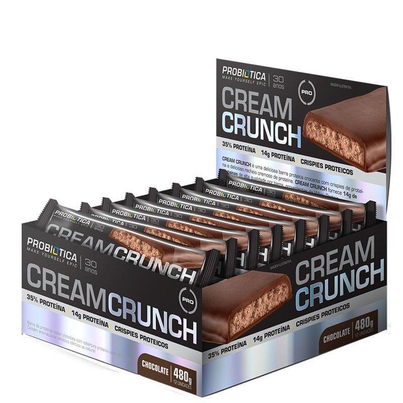 Cream Crunch 12und - Probiotica   - Personall Suplementos