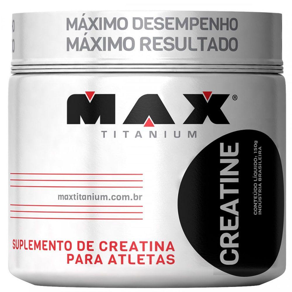 Creatina 150g - Max Titanium  - Personall Suplementos