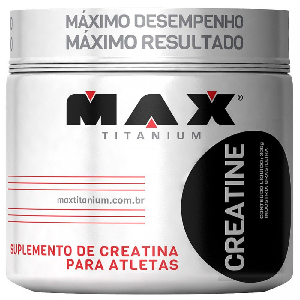 Creatina 300g - Max Titanium  - Personall Suplementos