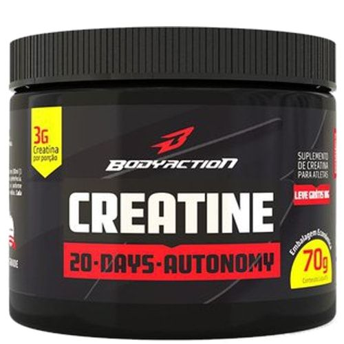 Creatina 70g - Body Action  - Personall Suplementos