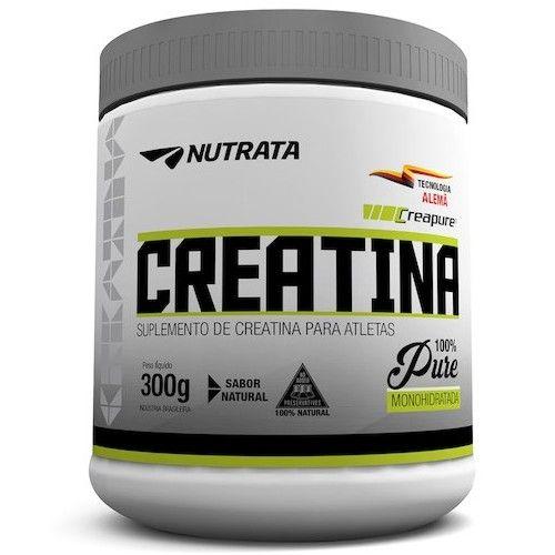 Creatina Creapure 300g - Nutrata  - Personall Suplementos