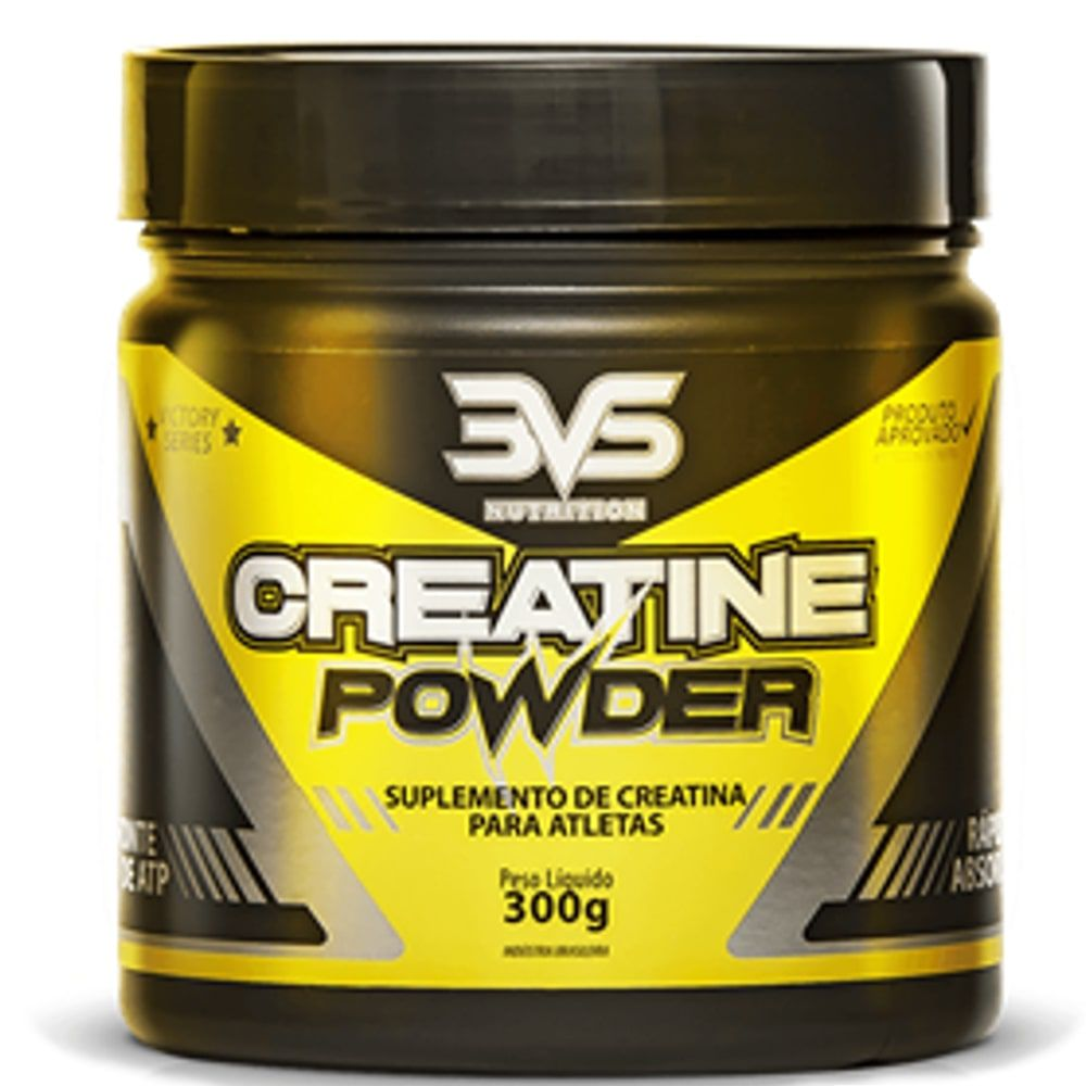 Creatina Powder - 3VS  - Personall Suplementos