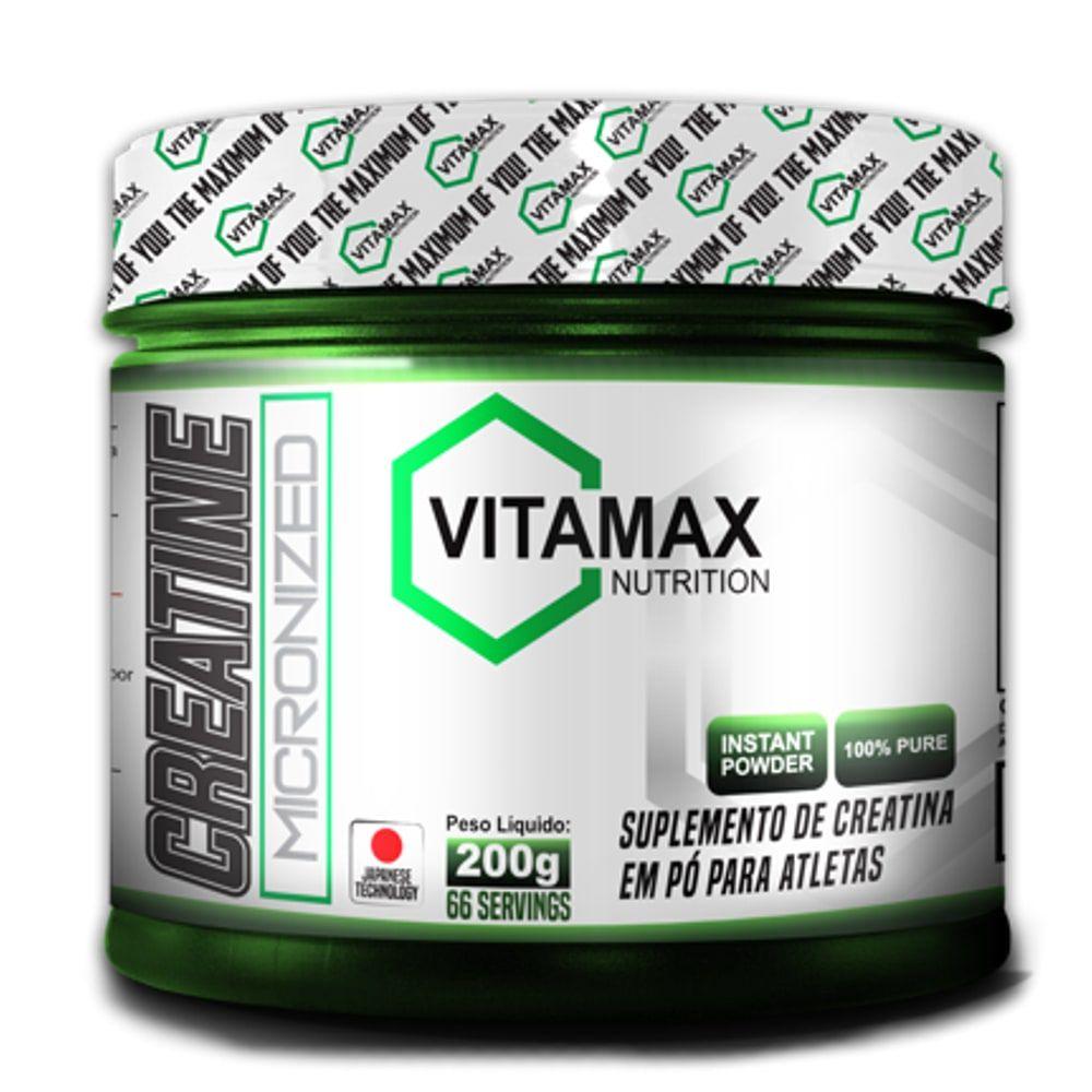 Creatine Micronized 200 gramas - Vitamax  - Personall Suplementos
