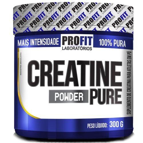 Creatine Pure 300g - Profit  - Personall Suplementos