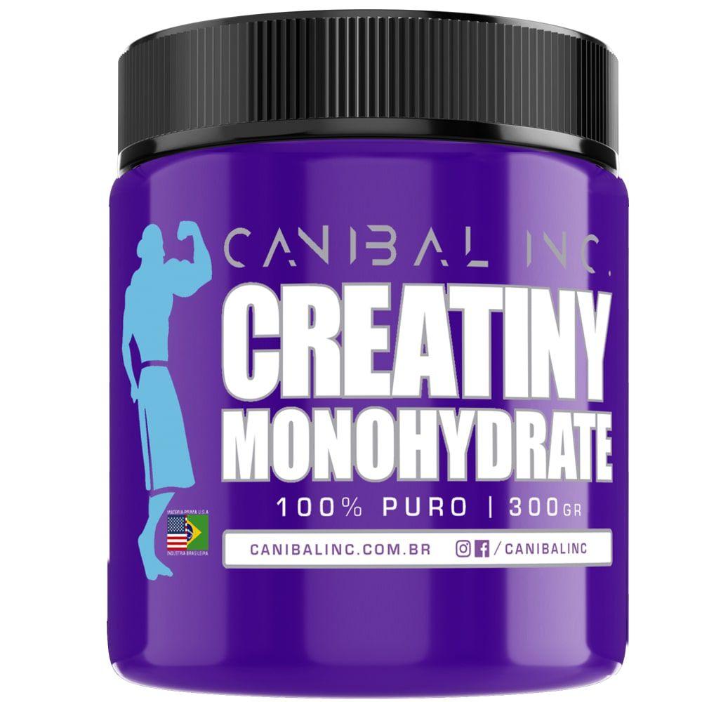 Creatiny Monohydrate 300g - Canibal Inc  - Personall Suplementos