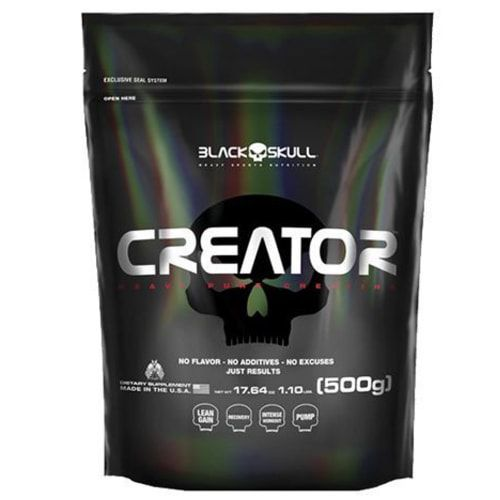 Creator 500g - Black Skull  - Personall Suplementos
