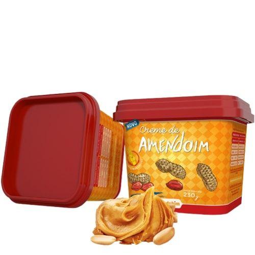 Creme de Amendoim 230g - Mandubim  - Personall Suplementos