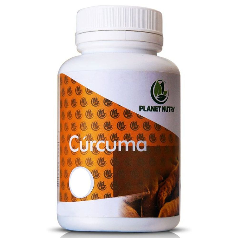 Cúrcuma 60 cápsulas - Planet Nutry