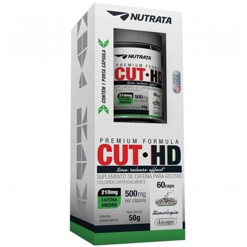Cut-HD 60caps - Nutrata  - Personall Suplementos
