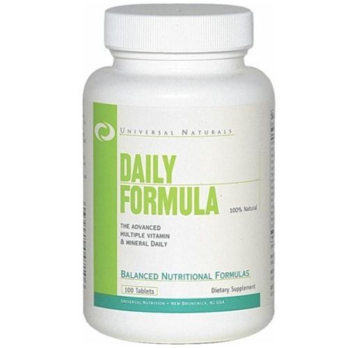 Daily Formula 100tabs - Universal  - Personall Suplementos