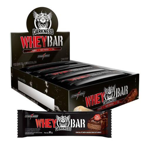Dark Whey Bar 8und - Darkness  - Personall Suplementos