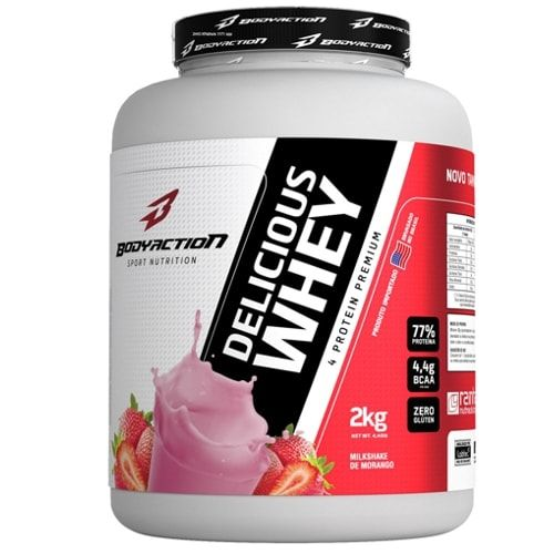 Delicious Whey 2kg - Body Action  - Personall Suplementos