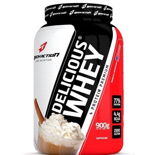 Delicious Whey 900g - Body Action  - Personall Suplementos
