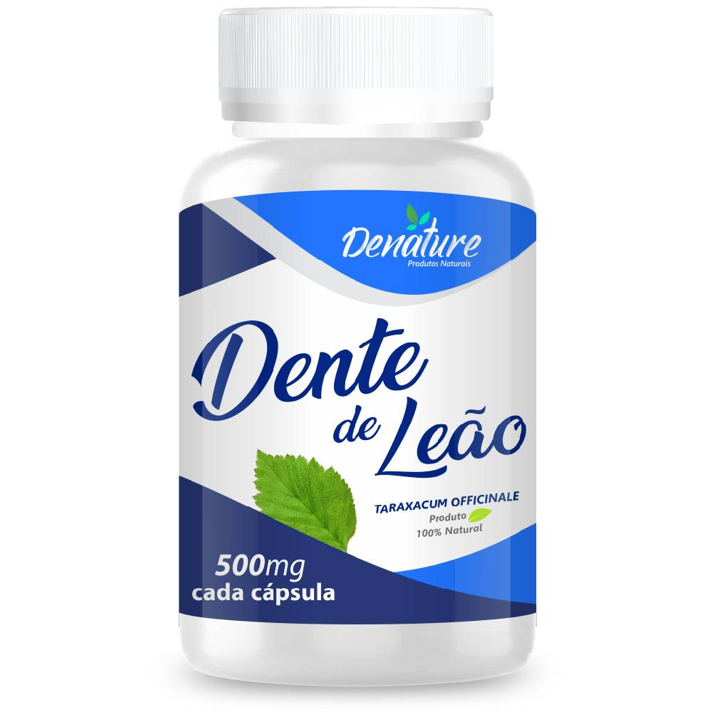 Dente de Leão 500mg 100 cápsulas - Denature
