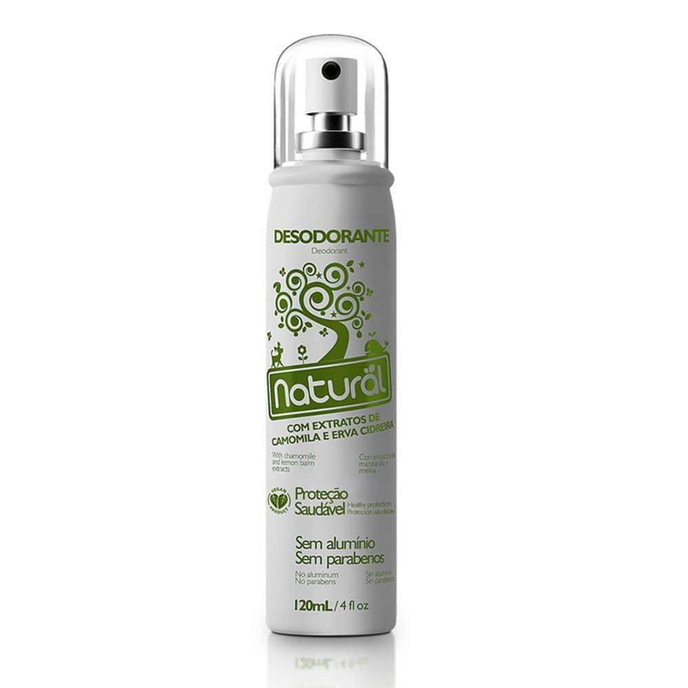 Desodorante Com Extratos de Camomila e Erva Cidreira 120ml - Orgânico Natural
