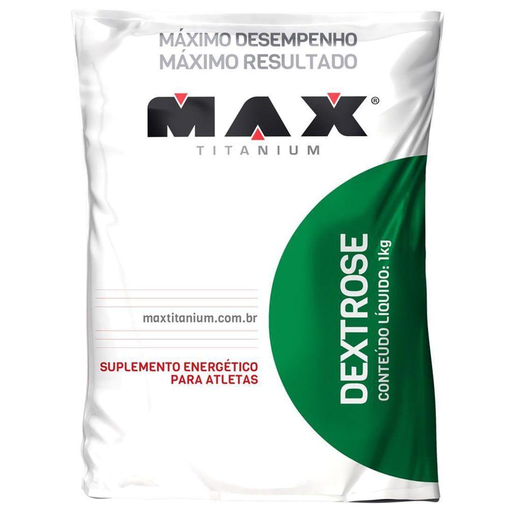 Dextrose 1kg - Max Titanium   - Personall Suplementos