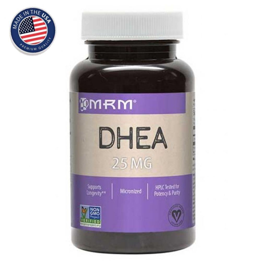 DHEA 25mg 90 cápsulas - MRM  - Natulha
