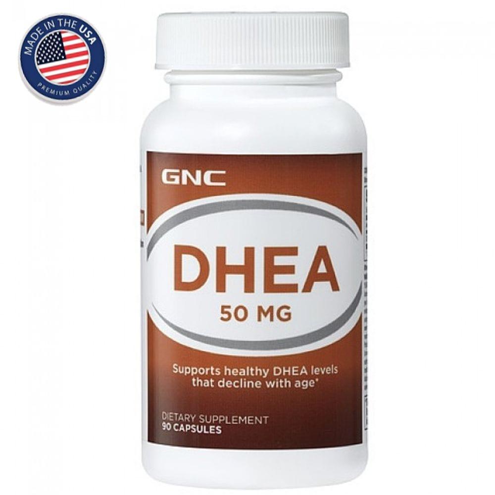 DHEA 50mg 90 cápsulas - GNC  - Natulha