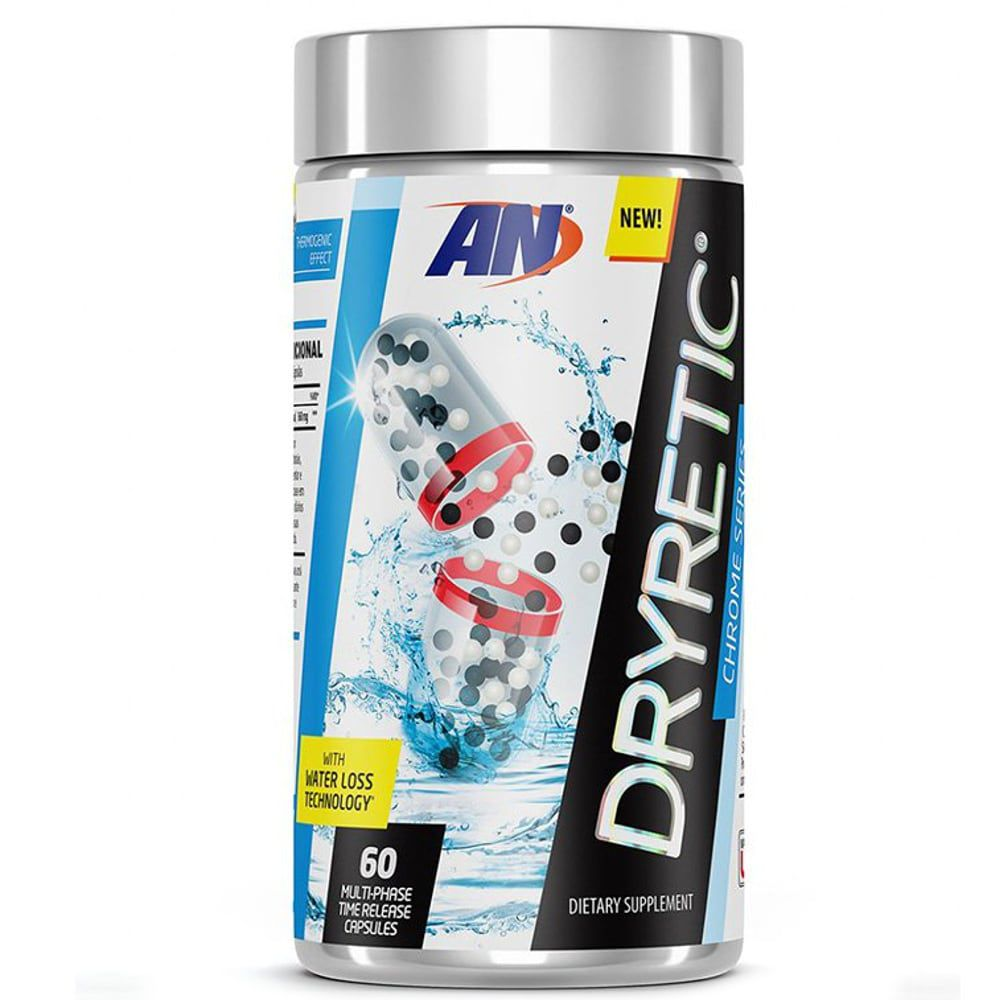 Dryretic - 60 Cápsulas - Arnold Nutrition  - Personall Suplementos