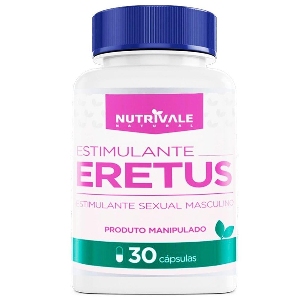 Eretus Estimulante Sexual Natural Masculino 30 cápsulas
