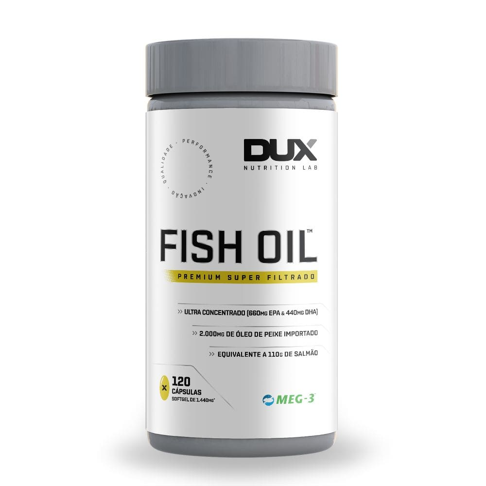 Fish Oil ( Omega 3 Premium) 120 softgels - Dux Nutrition