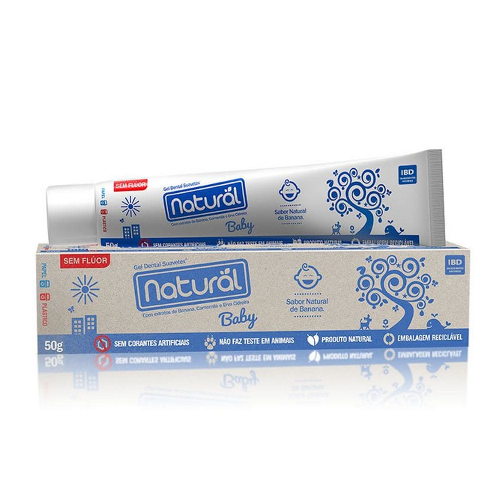 Gel Dental Natural Baby 50g - Orgânico Natural