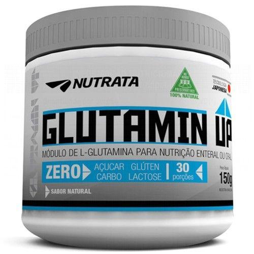 Glutamin UP 150g - Nutrata  - Personall Suplementos
