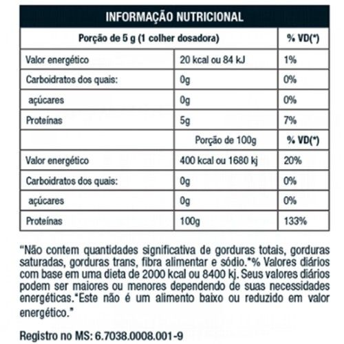 Glutamin UP 1kg - Nutrata  - Personall Suplementos