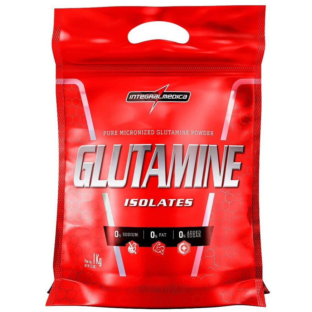 Glutamina 1kg - integralIntegralmedica   - Personall Suplementos