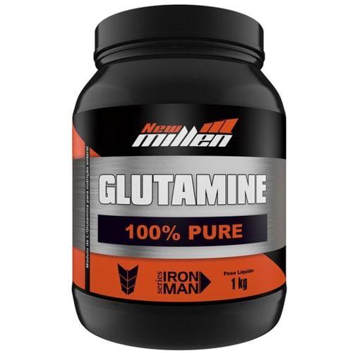 Glutamina 1kg - New Millen  - Personall Suplementos