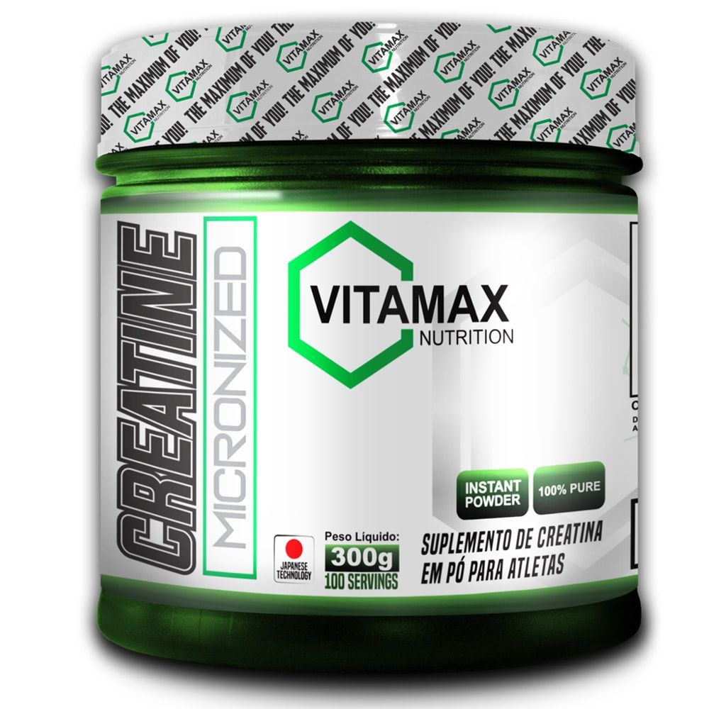 Glutamina 300 gramas - Vitamax
