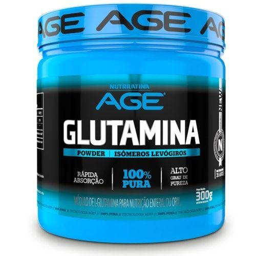 Glutamina 300g - Nutrilatina Age  - Personall Suplementos