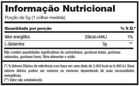 Glutamine 300g - Adaptogen  - Natulha