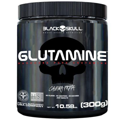 Glutamine 300g - Black Skull  - Personall Suplementos