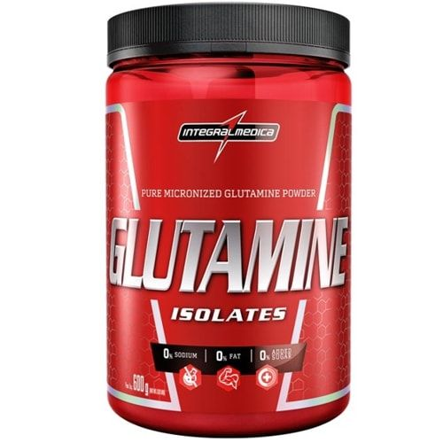 Glutamine Isolate 600g - Integralmedica  - Personall Suplementos