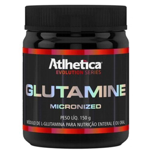 Glutamine Micronized 150g - Atlhetica Nutrition  - Personall Suplementos