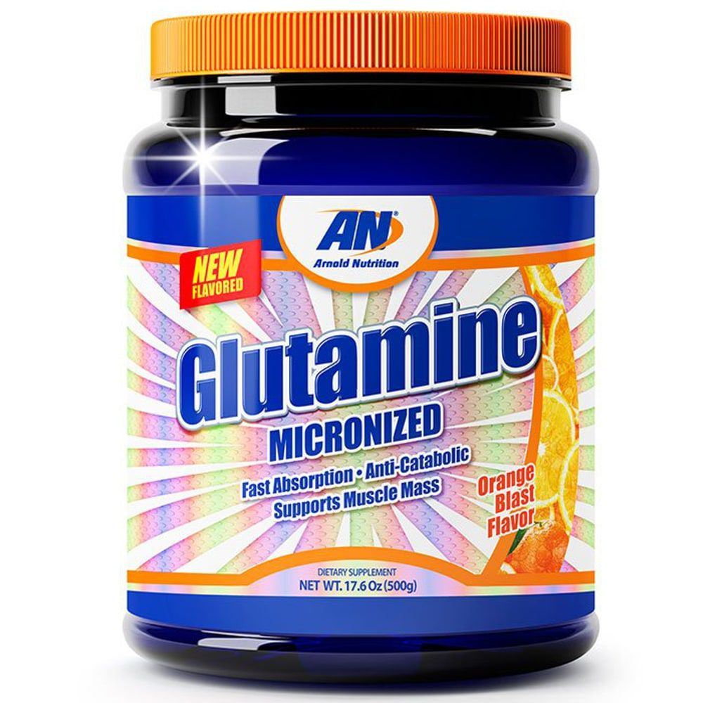 Glutamine Micronized - 500 gramas - Arnold Nutrition  - Personall Suplementos