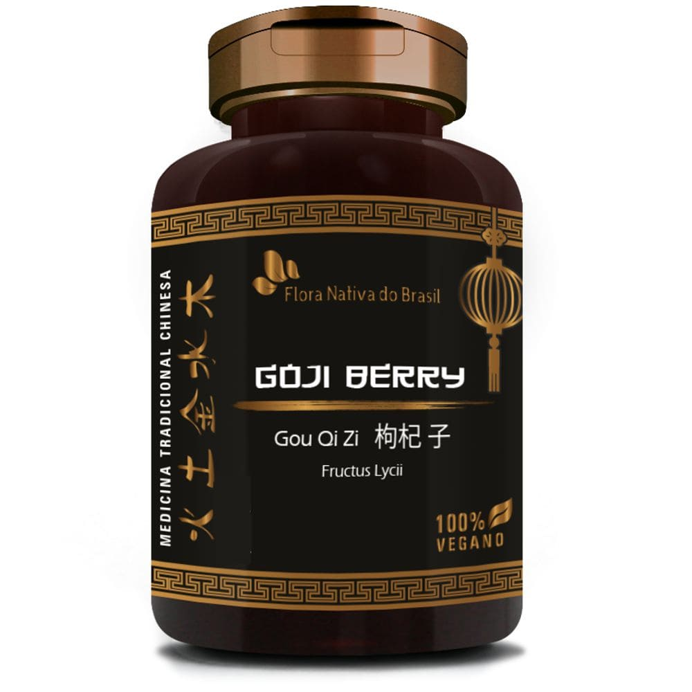 Goji Berry 500mg 90 cápsulas - Flora Nativa