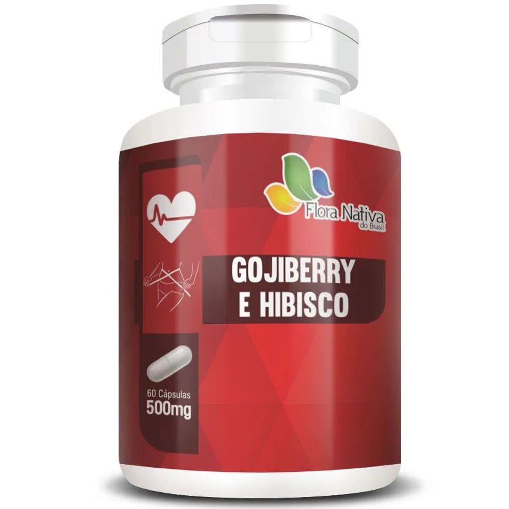 Goji Berry com Hibisco 60 cápsulas - Flora Nativa