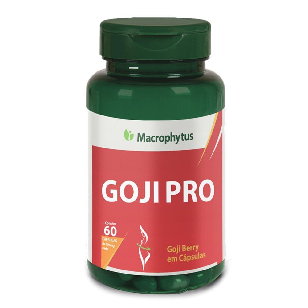 Goji Pro 500mg 60 cápsulas - Macrophytus