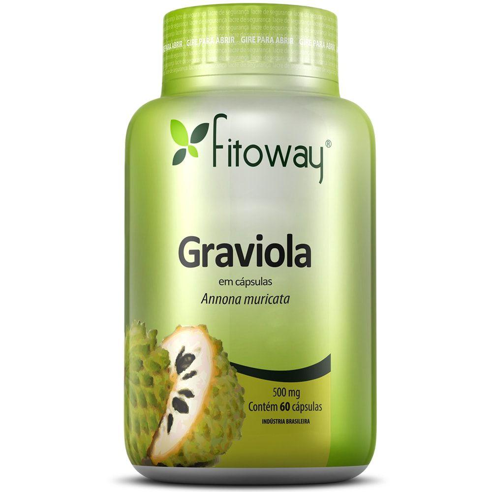 Graviola 60 cápsulas - Fitoway  - Natulha