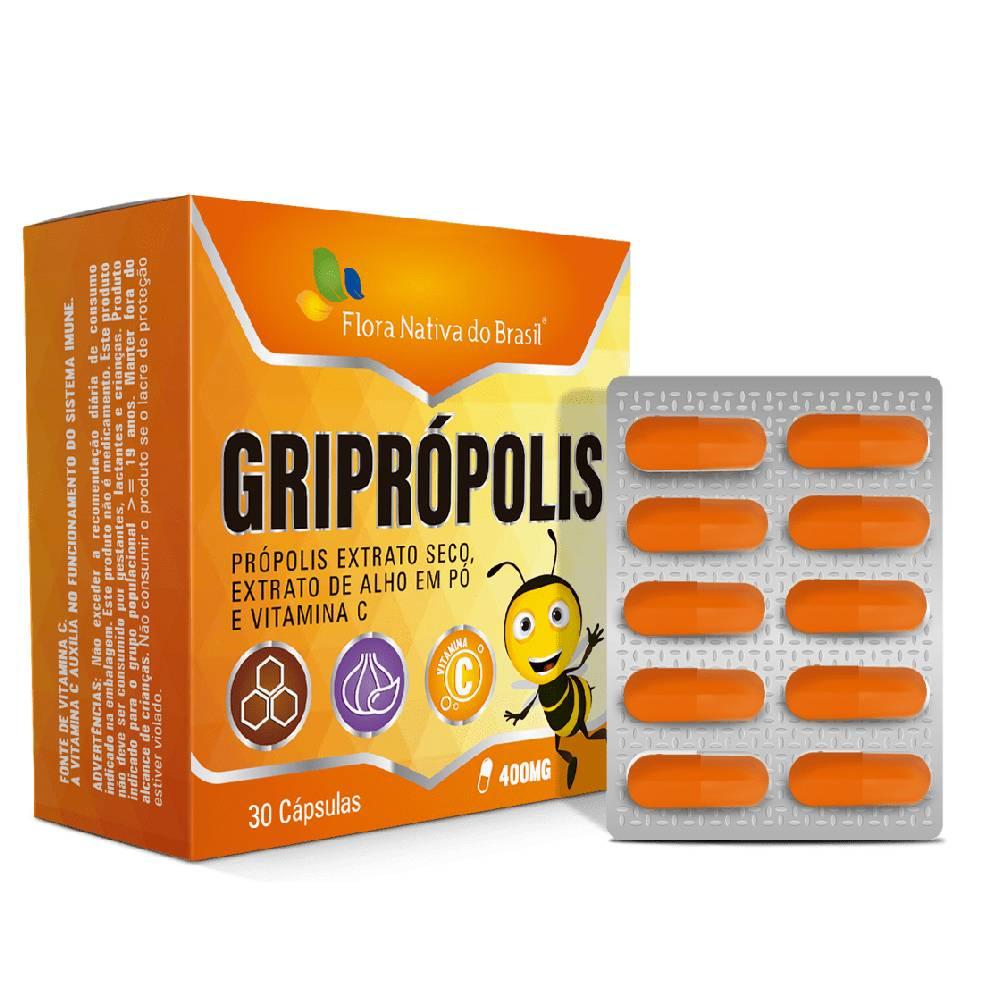 Griprópolis 30 cápsulas - Flora nativa