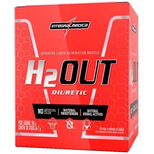 H2OUT 30 sticks - Integralmedica  - Personall Suplementos