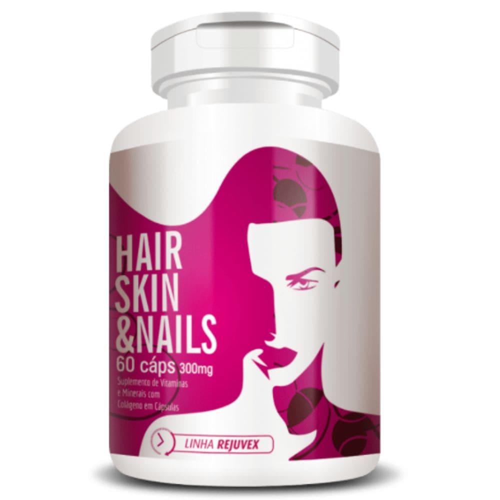 Hair Skin & Nails Mulher 60 Cápsulas - Flora Nativa