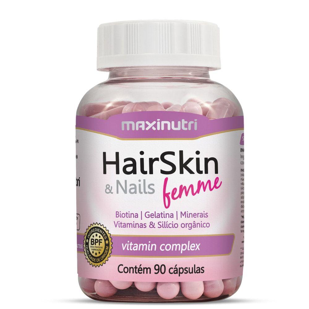 HairSkin & Nails Femme 90 Cápsulas - Maxinutri  - Natulha