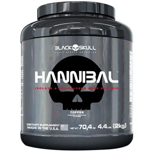 Hannibal 2kg - Black Skull  - Personall Suplementos