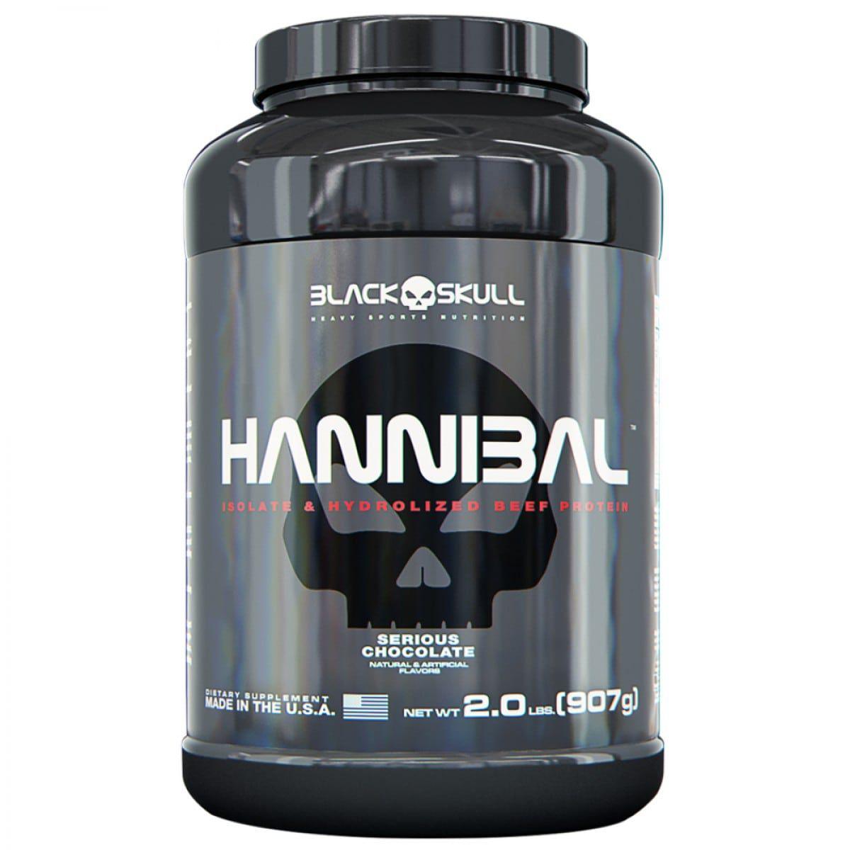 Hannibal 907g - Black Skull   - Personall Suplementos