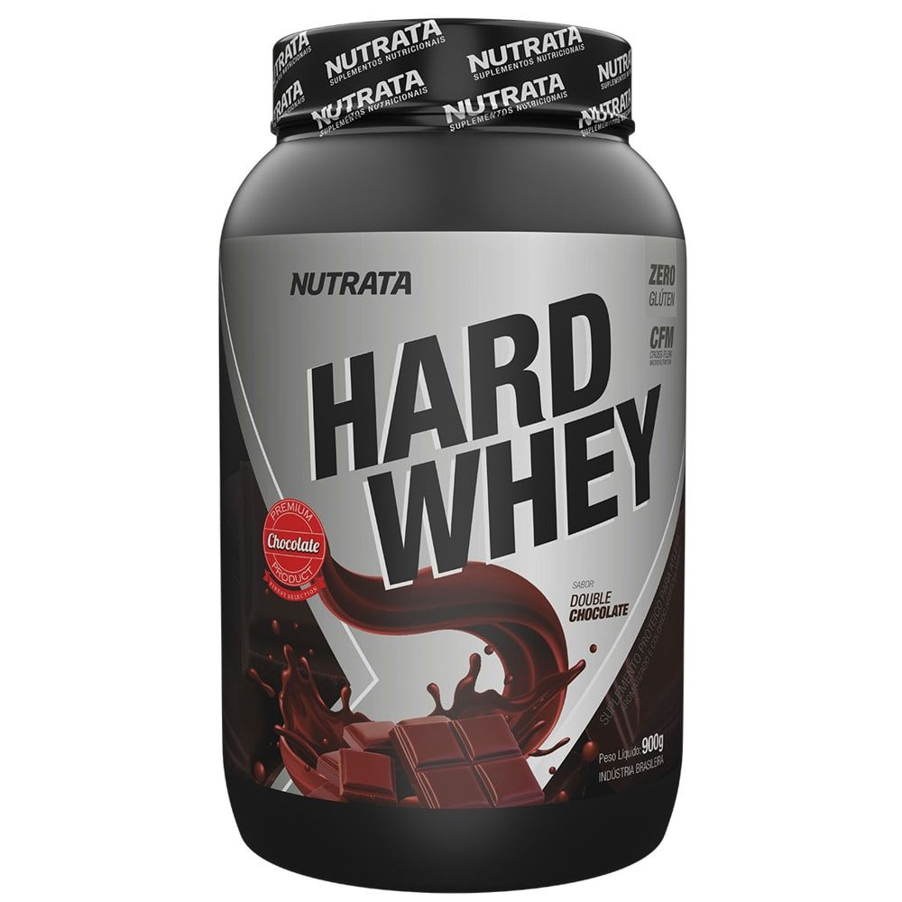 Hard Whey 900g - Nutrata  - Personall Suplementos